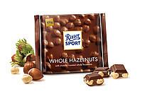 Шоколад Ritter Sport WHOLE HAZELNUTS (цельный лесной орех) Германия 100г