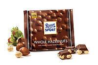 Шоколад Ritter Sport WHOLE HAZELNUTS (цельный лесной орех) Германия 100г, фото 1