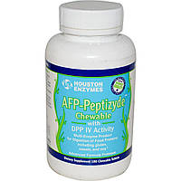 Houston Enzymes, Пептизид протеаза с ДПП-4, 180 жевательных таблеток