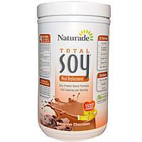 Naturade, Абсолютная соя (Total Soy), заменитель пищи, со вкусом баварского шоколада, 17,88 унции (507 г)
