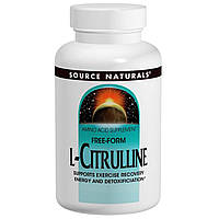 Source Naturals, L-цитруллин, 1000 мг, 60 таблеток