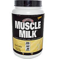 """Cytosport, Inc, Настоящее молоко для мышц, лучший натуральный протеин для """"сухих"""" мышц, со вкусом печений с кремом, 39.5 унций (1120 г)"""