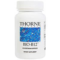 Thorne Research, Био-B12, 60 вегетарианских капсул