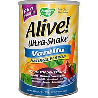 Nature's Way, Alive! Ultra-Shake мультивитаминная добавка со вкусом ванили, 34 унции (975 г)
