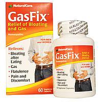 Natural Care, GasFix от Вздутия Живота и Газов 60 овощных капсул