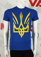 Valimark 2017 мужская футболка патриотическая Украина герб  код 17049