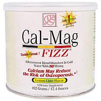 Baywood, Cal-Mag Fizz, вкус лимона и лайма, 17,4 унций (492 г)