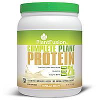 PlantFusion, Полный растительный белок, стручок ванили, 1 фунт (454 г)