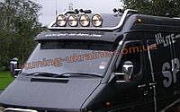 Дуга на крышу люстра из нержавейки на Mercedes Sprinter 1995-2006