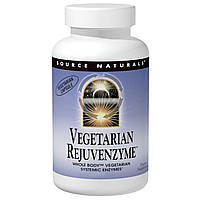 Source Naturals, Vegetarian Rejuvenzyme, 120 капсул