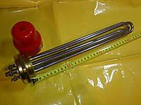 Блок тэн нержавейка 6.0 кВт / 2.0 дюйма резьба / 380 В. / 340 мм. длина . производство Турция SANAL