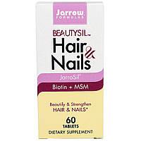 Jarrow Formulas, BeautySil Волосы и Ногти, 60 таблеток