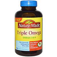 Nature Made, Triple Omega , 150 Liquid Softgels