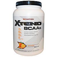 Scivation, Xtend, BCAAs (аминокислоты с разветвленными боковыми цепями), со вкусом апельсина, 45,0 унций (1276 г)
