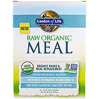Garden of Life, RAW Meal, органический коктейль и заменитель пищи, 10 пакетиков, 2,3 унции (65 г) каждый