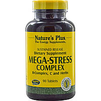 Nature's Plus, Мега-стрессовый комплекс, 90 таблеток