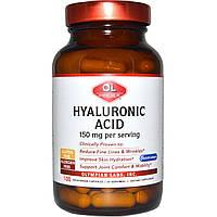 Olympian Labs, Гиалуроновая кислота, 150 мг, 100 капсул, официальный сайт