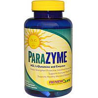 Renew Life, ParaZyme, 90 растительных капсул