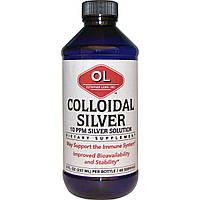 Olympian Labs Inc., Коллоидное серебро, 8 жидких унций (237 мл)