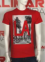 Valimark 2017 мужская футболка красная LA код 17176