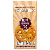 Buff Bake, Protein Cookie Печенье, Белое Шоколадное Арахисовое Масло, 12 штук по 2,82 унции (80 г) каждый