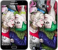 """Чехол на Samsung Galaxy Note i9220 Джокер и Харли Квинн v2 """"3806u-316"""""""