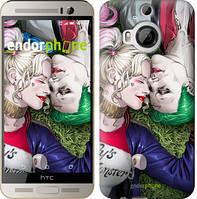 """Чехол на HTC One M9 Plus Джокер и Харли Квинн v2 """"3806u-134"""""""