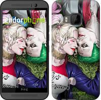 """Чехол на HTC One M9 Джокер и Харли Квинн v2 """"3806u-129"""""""