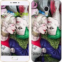 """Чехол на Meizu MX6 Джокер и Харли Квинн v2 """"3806c-259"""""""