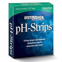Enzymedica, Тест-полоски для определения pH, 16-футовая катушка