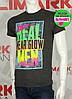 Valimark cтильная мужская футболка светится в ультрафиолете real wear glow men код 17193