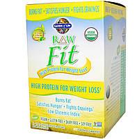 Garden of Life, RAW Fit, с высоким содержанием белка для снижения веса, 10 пакетиков по 1.6 унции (45 г)