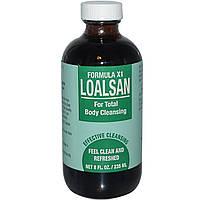 TPCS, Loalsan, Formula X1, для общего очищения организма, 8 жидких унций (235 мл)