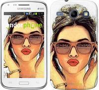 """Чехол на Samsung Galaxy Core i8262 Девушка_арт """"3005c-88"""""""