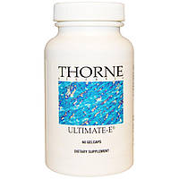Thorne Research, Ultimate-E, 60 гелевых капсул