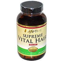 Life Time, Супер живые волосы с МSМ, 120 капсул