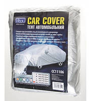 Тент автомобильный Vitol Витол Размер M CC11106 серый Polyester 432х165х119