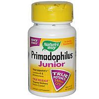 Nature's Way, Primadophilus, для детей 6-12 лет, 90 вегетарианских капсул