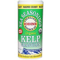 Maine Coast Sea Vegetables, Organic, морские приправы, морские водоросли в гранулах, 1,5 унции (43 г)