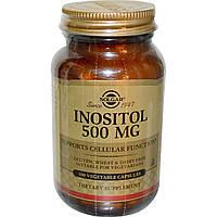 Solgar, Inositol, 500mg, 100 Veg Caps