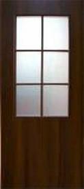 Дверное полотно СТАНДАРТ со стеклом экошпон