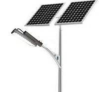 Светодиодный уличный фонарь 30W с солнечной батареей. КРУГЛОГОДИЧНЫЙ, фото 1
