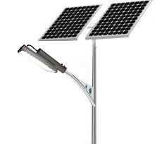 Автономный светодиодный уличный фонарь 60 Вт. с солнечной батареей