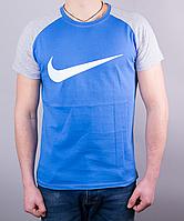 Мужская футболка-реглан NIKE хлопок