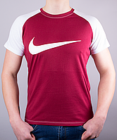 "Модная мужская футболка-реглан ""NIKE"""