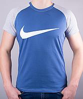 Крутая мужская футболка-реглан NIKЕ