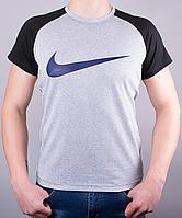 Мужская футболка-реглан NIKE хорошего качества