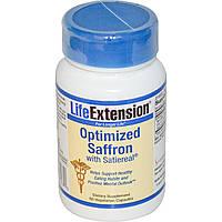 Life Extension, Улучшенный шафран с Satiereal, 60 капсул на растительной основе