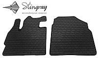 Автомобильные коврики Мазда CX-7 2006- Комплект из 2-х ковриков Черный в салон. Доставка по всей Украине. Оплата при получении