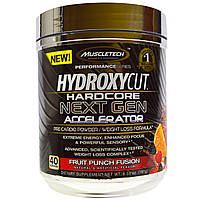 Hydroxycut, Hydroxycut Hardcore, акселератор следующего поколения, фруктовый пунш, 6,59 унций (187 г)